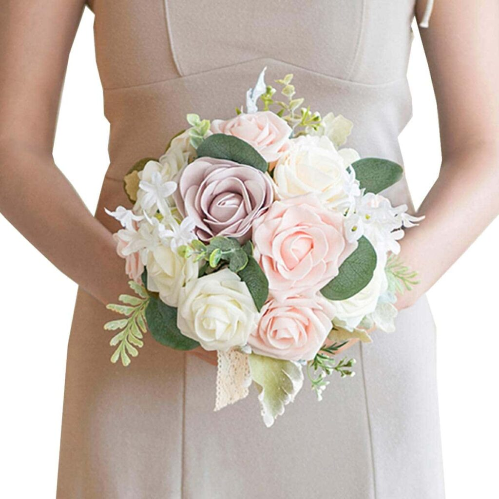 roses wedding bouquet